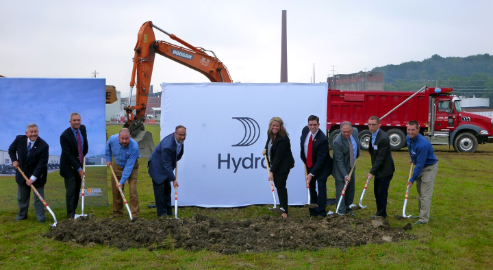 Hydro ground breaking