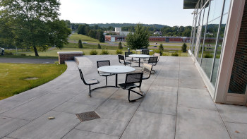 Student Center Patio 3